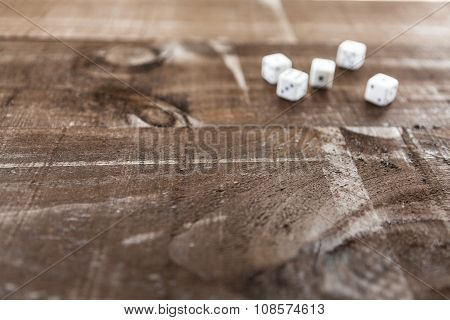 Game on wood