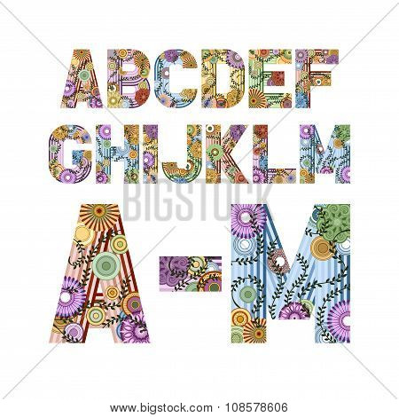 Funky Letters