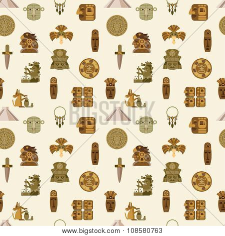 Maya Seamless Pattern