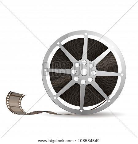 Illustration Of A Film Reel