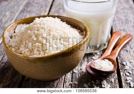 Grains Of White Rice