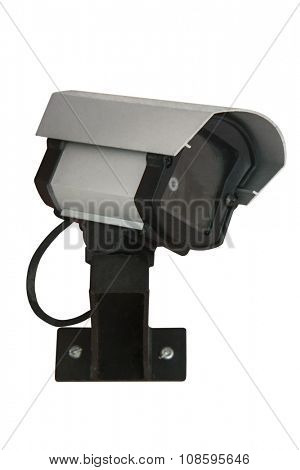 Security cam on white background