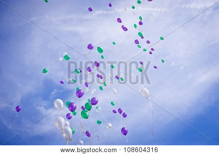 Multscolored Balloons