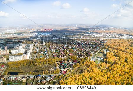 City district and training center. Tyumen. Russia