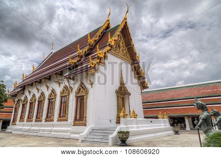 Hor Phra Naga In The Temple Of The Emerald Buddha  Complex