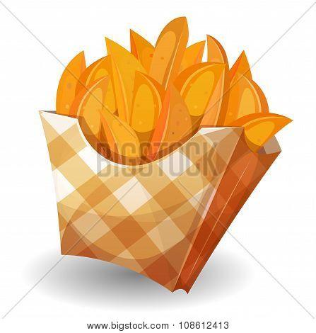 Wedge Potatoes In Box