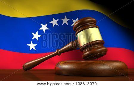 Venezuela Law Legal System Concept