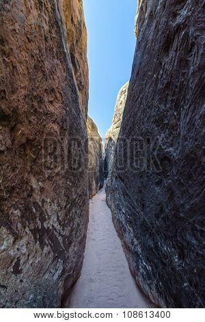 Narrow Slot Canyon Hike