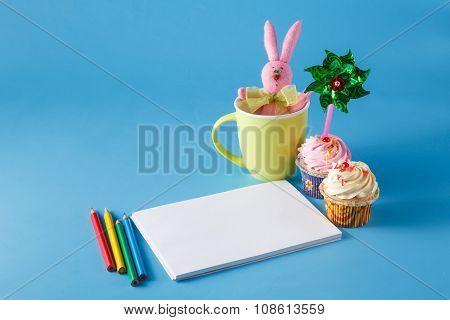 Kid Art Activities Concept