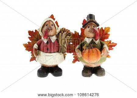 Mr. & Mrs. Pilgrim Turkey