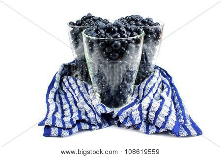 Three Glasses Of Bilberry