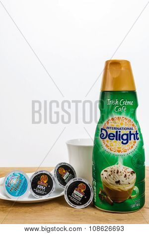 Coffee Creamer With K-cups