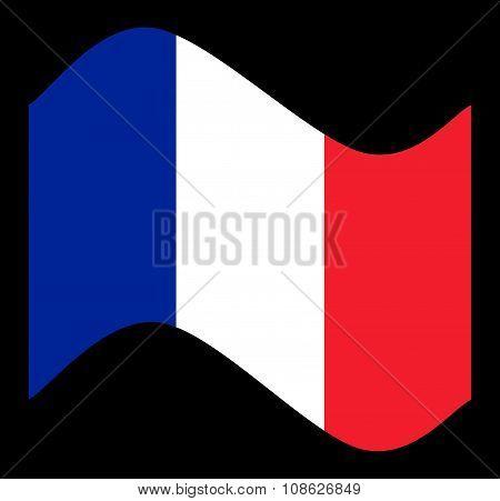 France Flag Wave