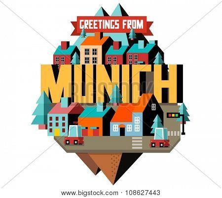 Munich city is a beautiful destination to visit for tourism.
