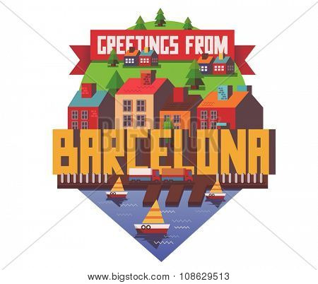 Barcelona city is a beautiful destination to visit for tourism.