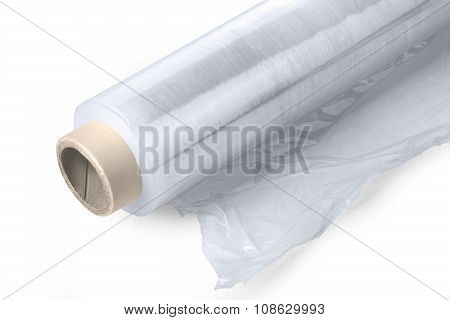Roll Of Plastic Stretch Film