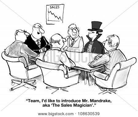 The Sales Magician
