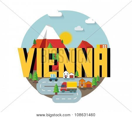 Vienna city is a beautiful destination to visit for tourism.