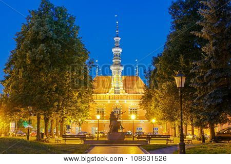 Gdansk. Old Town Hall.