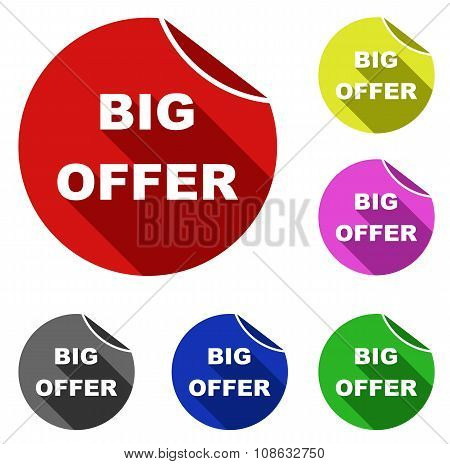 Big Offer Icons