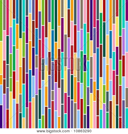 Abstract Stripes In Multicolours