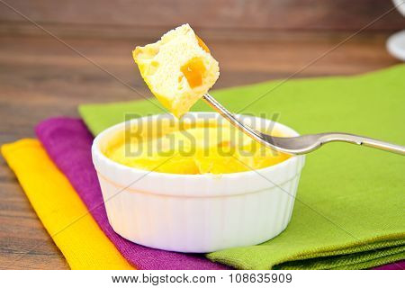 Healthy and Diet Food: Scrambled Eggs.