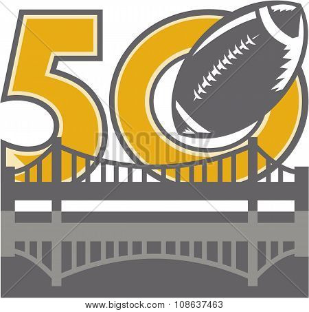 Pro Football Championship 50 Ball Bridge