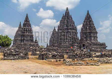 Candi Rara Jonggrang, Part Of Prambanan Hindu Temple,  Indonesia