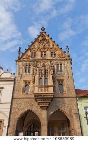 Stone House (xv C.) In Kutna Hora, Czech Republic. Unesco Site