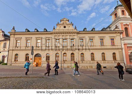 Municipal Library In Kutna Hora, Czech Republic