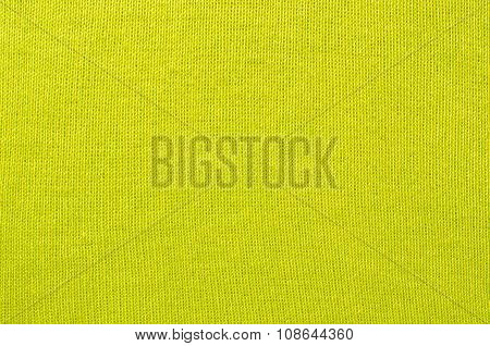 Vibrant Green Textile Pattern As A Background.