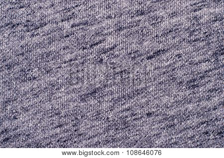 Close Up On Knit Woolen Texture.