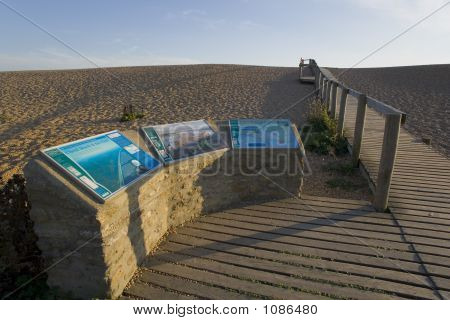 England Dorset Coast Chesil Beach