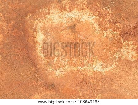 Seamless Rust Background - Metal Corroded Texture - Brown Filter Look