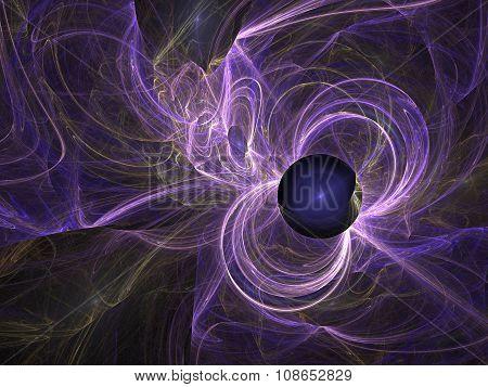 Rebirth Of A Black Hole.