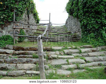 Castle Stairway Ruins