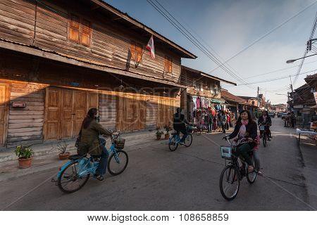 Chiang Khan, Loei, Thailand