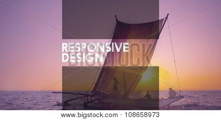 Responsive Design Interface Browser Programming Concept
