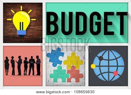 Budget Savings Money Financial Cash Banking Concept