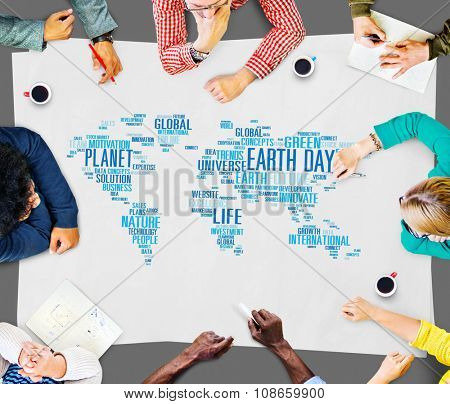Earth Day Environment Global Growth Conservation Concept