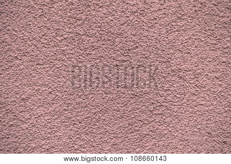 Red Revetment Wall Putty Macro Texture Background