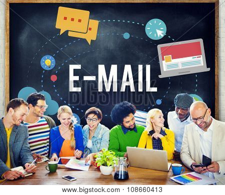 Electronic Mail Email Technology Concept