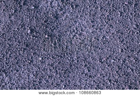 Violet Earth And Gravel Macro Texture Background