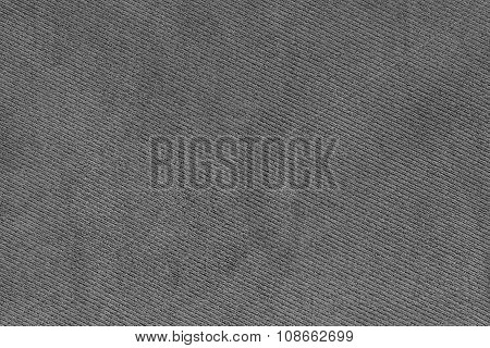 Grey Fabric Woven Texture Macro Background