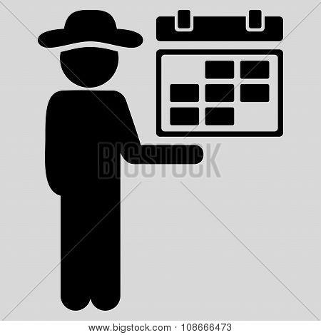 Spy Schedule Icon