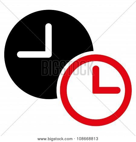 Clocks Flat Icon
