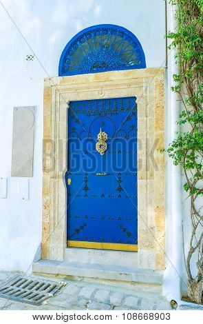 The Bright Blue Door