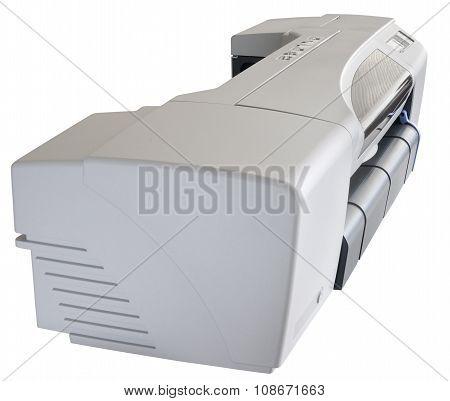 Ink-jet Plotter On White