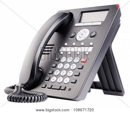 Office Ip Telephone Isolated