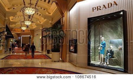 Prada store at Wynn Las Vegas and Encore in Las Vegas